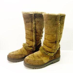 Sundance II UGGS Tall Sheepskin Brown Boots
